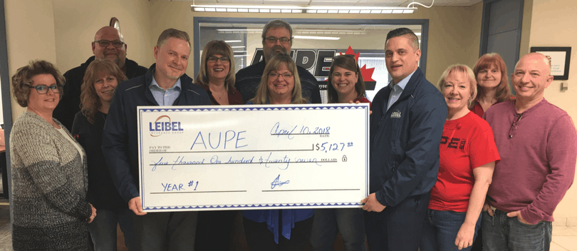AUPE Donation