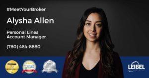 Meet your broker Alysha