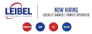 Leibel Insurance Group Now Hiring Sign
