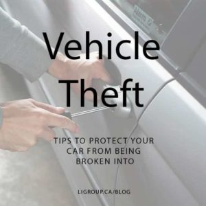 Protect Your Car From Being Broken In To