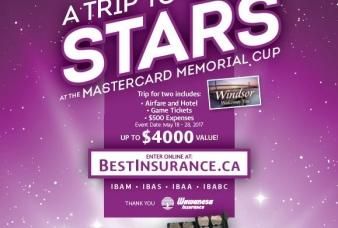Insurance Brokers Memorial Cup Trip Contest