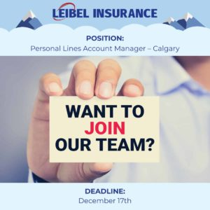 leibel-job-listing-personal-lines-account-manager-calgary